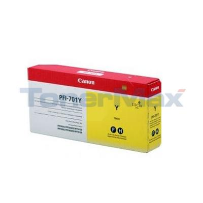 CANON PFI-701Y INK YELLOW 700ML